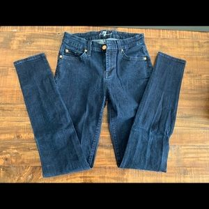 7 for all Mankind Skinny Jeans - size 26